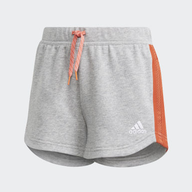 Short Gris Filles Athletics