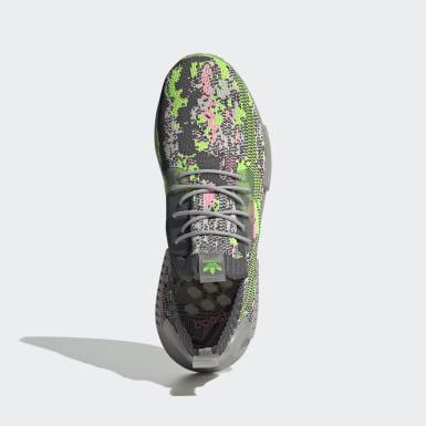 Sapatos NMD_R1 Primeknit Cinzento Originals