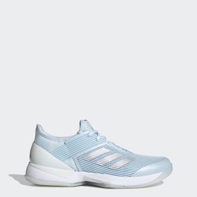 Kvinder Tennis Blå Ubersonic 3 Hard Court sko