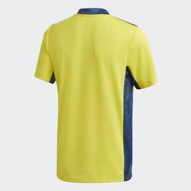 Camisola de Guarda-redes 20/21 da Juventus Amarelo Criança Futebol