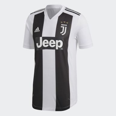 Maglia Home Authentic Juventus Bianco Uomo Calcio