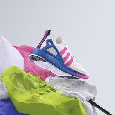 Sapatos ZX 2K Flux Branco Mulher Originals