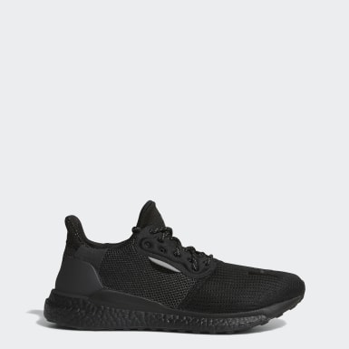 Tenis Pharrell Williams x adidas Solar Hu PRD Negro Hombre Originals