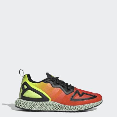 Sapatos ZX 2K 4D Amarelo Originals