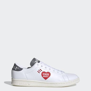 Chaussure Stan Smith Human Made blanc Originals