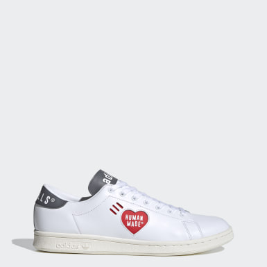Men Originals White Stan Smith Human Made Shoes