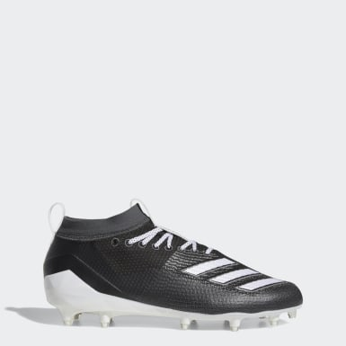 American Football Black Adizero 8.0 Cleats