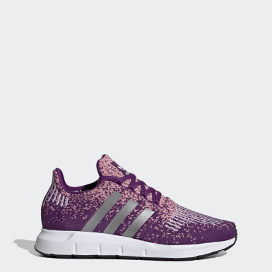 Women's Originals Purple Swift Run Shoes