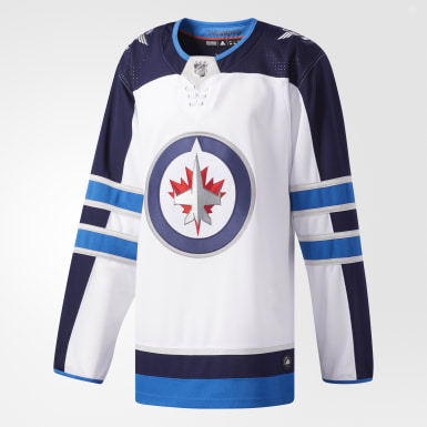 Hockey Multicolor Jets Away Authentic Pro Jersey