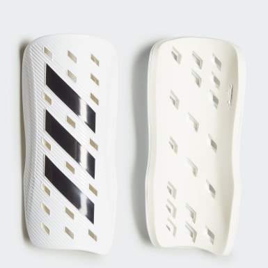 Football White Tiro Club Shin Guards
