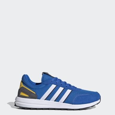 Men Sport Inspired Blue Retrorun Shoes