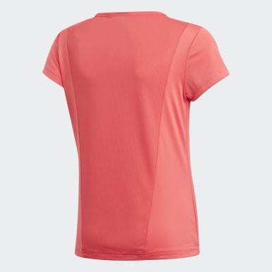 Genç Training Pembe Cardio Tişört
