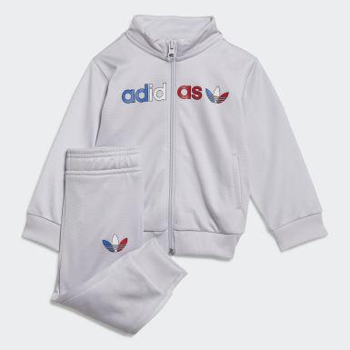 Survêtement Adicolor Primeblue gris Bambins & Bebes Originals