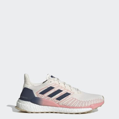 Women Running Grey Solarboost 19 Shoes