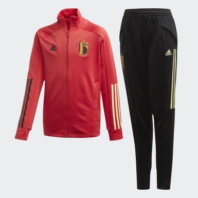 красный Спортивный костюм сборной Бельгии