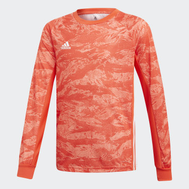 Youth Soccer Orange AdiPro 19 Goalkeeper Jersey