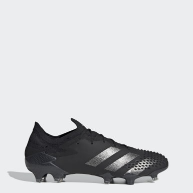 Football Black Predator Mutator 20.1 Firm Ground Boots