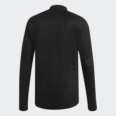 Men's Soccer Black Tiro 19 Training Top