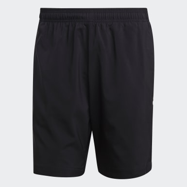 Heren Athletics Zwart Essentials Linear Chelsea Short