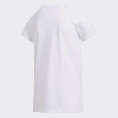 Youth Training White Classic Boxy Tee