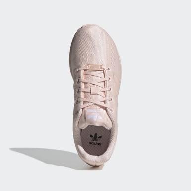 Girls Originals Pink ZX Flux Shoes