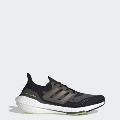 Sapatos Ultraboost 21 Preto Homem Running
