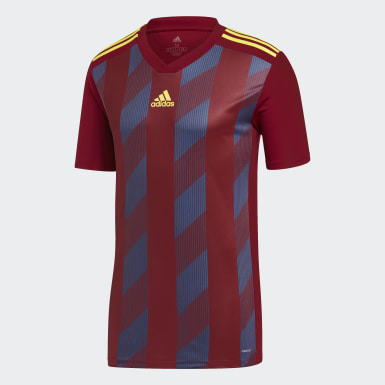 Men Training Burgundy Striped 19 Jersey