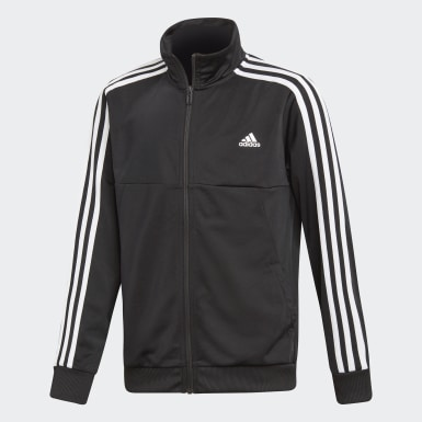 Youth Training Black Tiro Track Suit