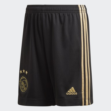 Kids Football Black Ajax Amsterdam 20/21 Third Shorts