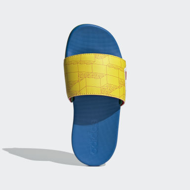 Children Swimming Yellow adidas Adilette Comfort x LEGO® Kids Slides