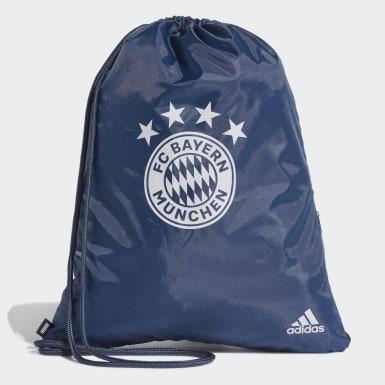 Fußball FC Bayern München Sportbeutel Blau