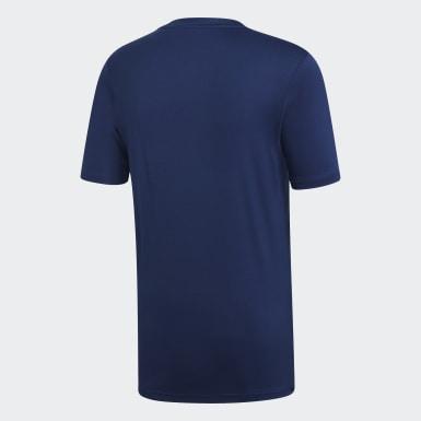 Camiseta Campeón 19 Azul Hombre Fútbol