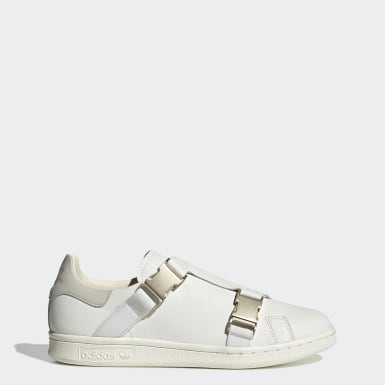 Tenis Stan Smith Buckle Blanco Mujer Originals