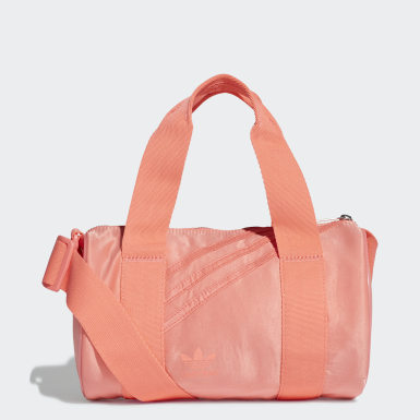 Mini Nylon Duffelbag Rød