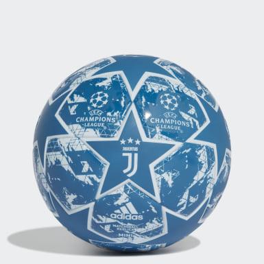 Fodbold Blå Finale 19 Juventus minibold