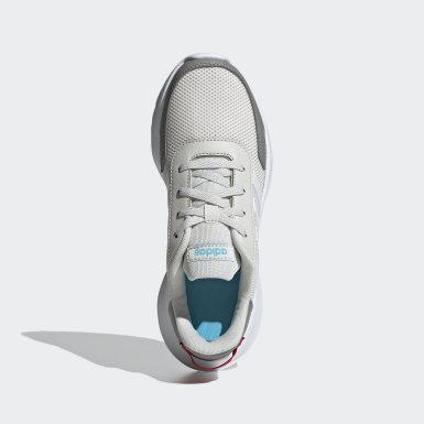 Children Running Grey Tensor Shoes