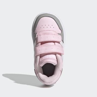 Scarpe Hoops 2.0 Rosa Bambini Basket