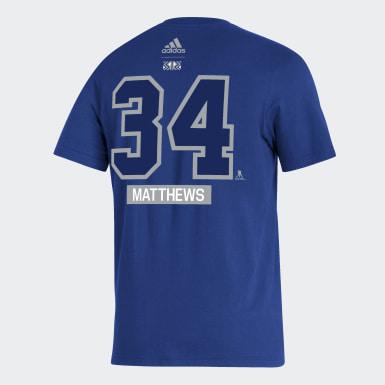 T-shirt Maple Leafs Matthews bleu Hockey