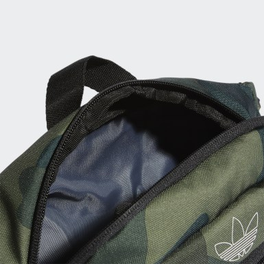 Sac banane National 3-Stripes vert Originals