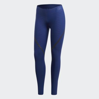 Frauen Running Alphaskin 360 Tight Blau