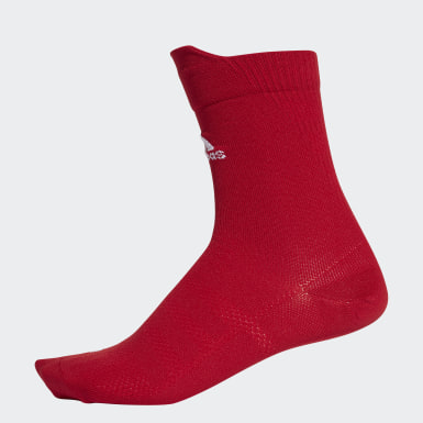 Calcetines clásicos Alphaskin Ultralight Rojo Training