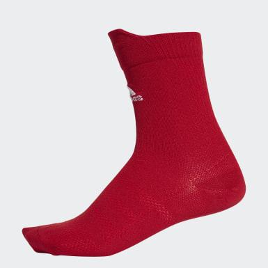 Trénink červená Ponožky Alphaskin Ultralight Crew
