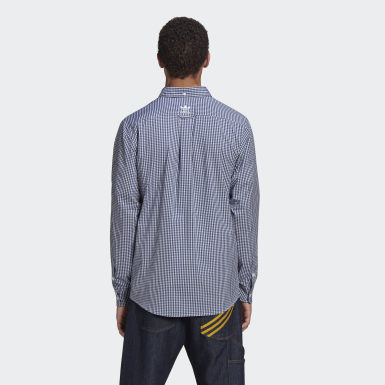 Herr Originals Vit HM Long Sleeve Shirt