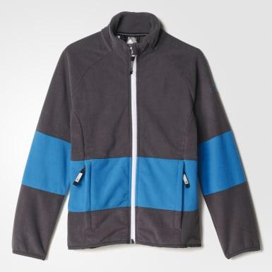 серый Детская флисовая куртка whisper