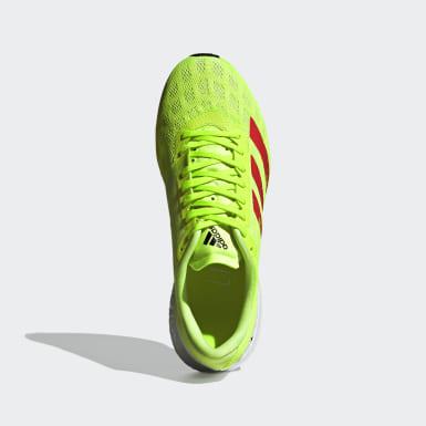 Sapatos Adizero Boston 9 BRLN Verde Homem Running