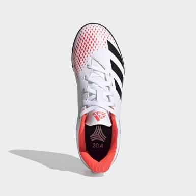 Botas de Futebol Predator 20.4 – Piso sintético Branco Criança Futebol