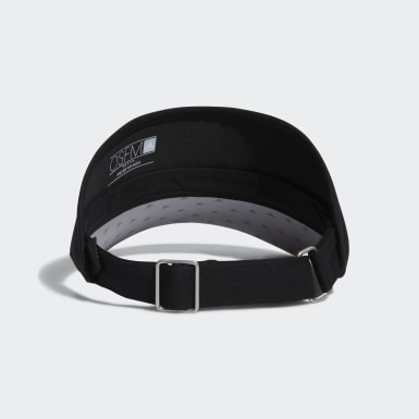 Men's Golf Black High-Crown Visor