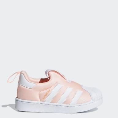 Infant Originals Pink Superstar 360 Shoes