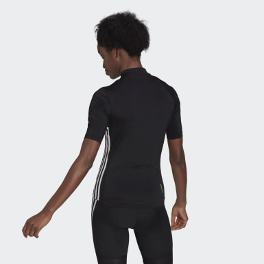 Maillot The Short Sleeve Cycling Noir Femmes Cyclisme