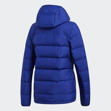 синий Куртка-пуховик Helionic